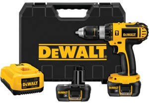 Dewalt 18V Lithium Ion Hammer Drill Kit