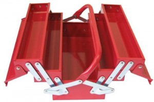Excel 5 Section Cantilever Tool Box