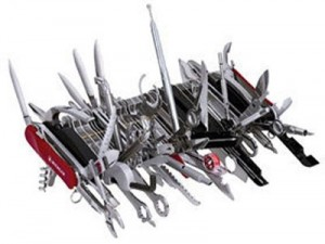 Giant Wenger Swiss Army Knife