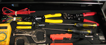 Improper Tool Drawer Organization