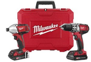 Milwaukee 18V Drill Driver Combo 12-2010 Recommendations