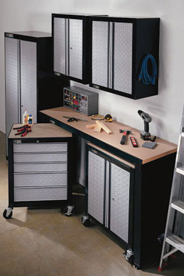 Gladiator Cadet Tool Storage By Stack On