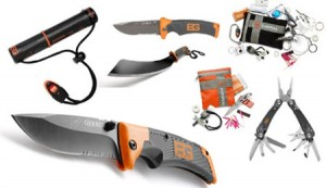 Gerber Bear Grylls Survival Tool Kits Fire Starter Knives and Multi-Tools