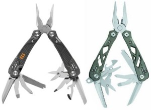 Gerber Bear Grylls Ultimate Multi-Tool vs Suspension Tool