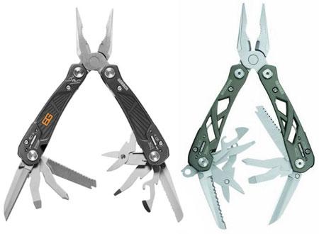 Gerber Bear Grylls Ultimate Multi-Tool vs Suspension Tool