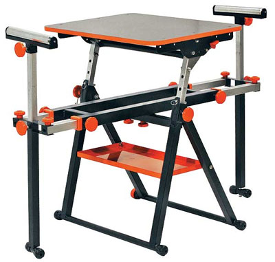 HTC PortaMate Tool Stand is Great for Benchtop Tools & Folds Flat