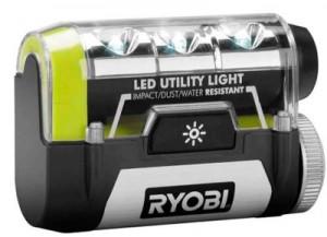 Ryobi Tek4 Cordless Lithium Ion Utility LED Light