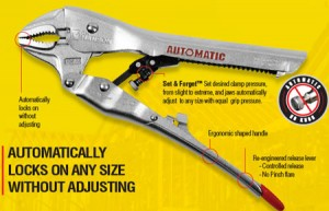 CH Hanson Automatic Locking Pliers and Clamps