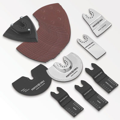 Porter Cable Oscillating Multi-Tool Accessories: