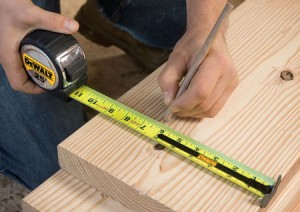 Dewalt 25 Foot Measuring Tape with 13-ft Blade Standout