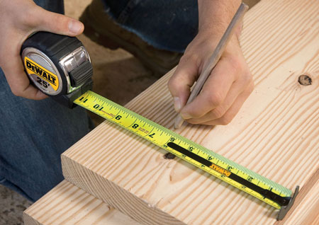 Dewalt 25 Foot Measuring Tape