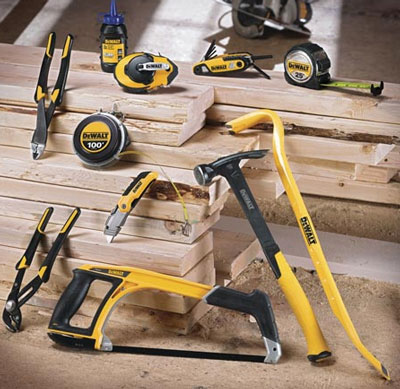 dewalt launches new line of hand tools!