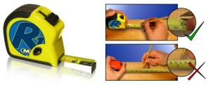M-Power R1 Right-Handed Tape Measure