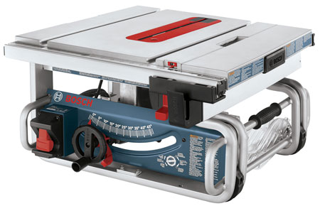 Hot Deal: Bosch 10″ Portable Table Saw for $299