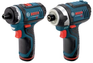 Bosch PS21 and PS41 Driver and Impact Driver Combo