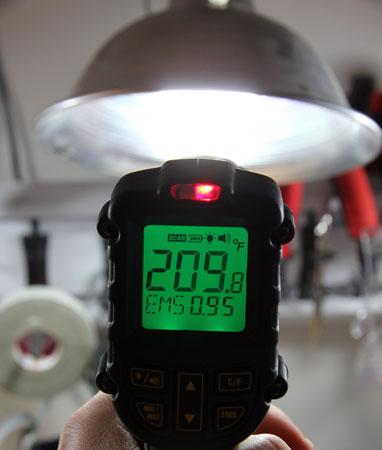 Dewalt 12V Max Infrared Thermometer Hot Alarm