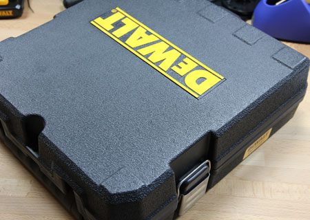 Dewalt 12V Max Infrared Thermometer Kit Case