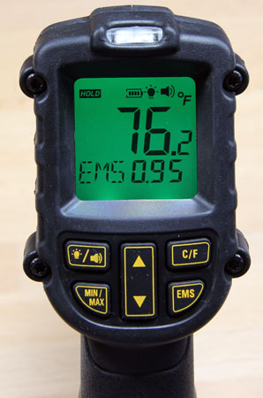 Dewalt 12V Max Infrared Thermometer with Backlit Display