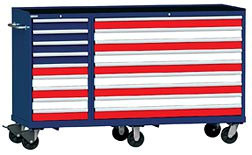 American Flag-Inspired Lista Tool Storage Cabinet Design