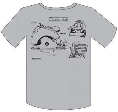 Show Your Love Of Diy With A Circular Saw Or Drill Press T Shirt