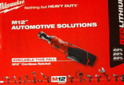 Milwaukee M12 Cordless Ratchet Automotive Solutions