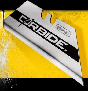Stanley Carbide Utility Knife Blade