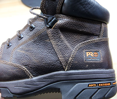Timberland PRO Helix Safety Toe Boots Side