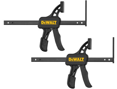 Dewalt TrackSaw Track Clamps Fit Festool Guide Rails!