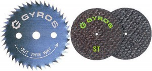 Gryos Circular Saw Blades & Cutting Disks for Dremel-Type Rotary Tools