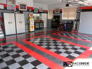 RaceDeck Garage Flooring Example
