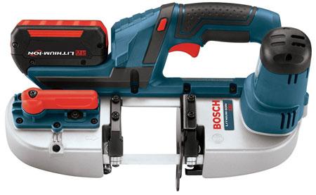 Bosch BSH180 Cordless Band Saw – Smaller, Lighter