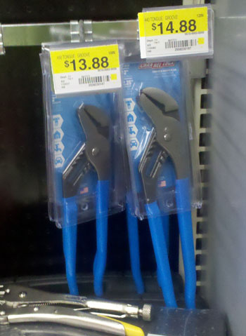 Channellock Pliers Now Stocked at… Walmart?!