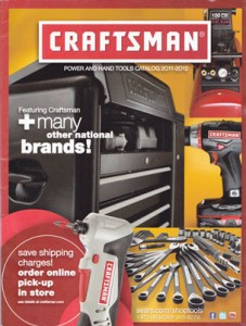 Craftsman 2011-2012 Catalog Cover Small