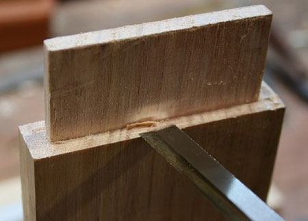 How to Make a Hand-Cut Mortise and Tenon Joint