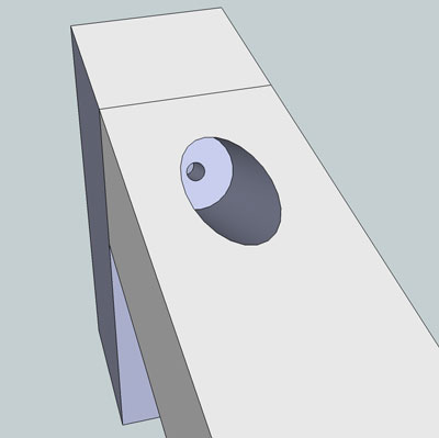 Pocket Hole Example Wood Butt Joint Screw Position 4