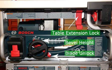 Bosch gts1031 table saw review bosch saw front and attached to stand keyboard keysfo Choice Image