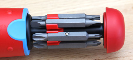 Channellock 13-in-1 Ratcheting Screwdriver Bit Cartridge