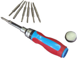 Channellock 18 in 1 Ratcheting Screwdriver
