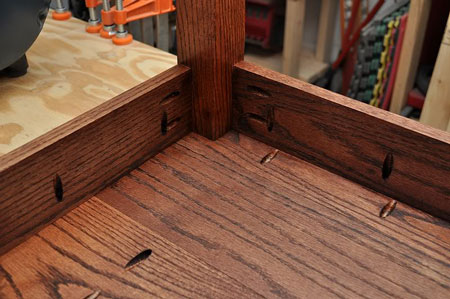 Diy Project How To Make A Dining Room Table With Pocket Holes