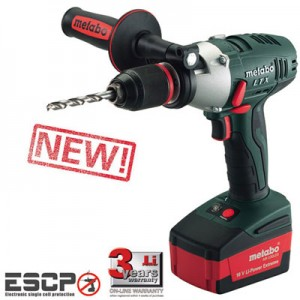 Metabo Cordless Drill Drivers with Impuls Action