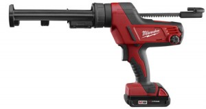 Milwaukee M18 Cordless Caulk and Adhesive Gun