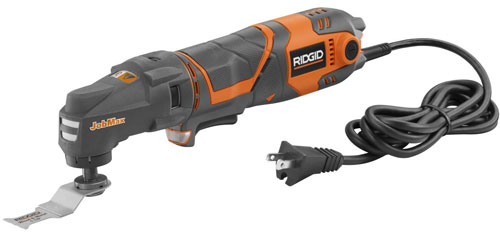 New Ridgid JobMax Corded Multi-Tool Starter Kit
