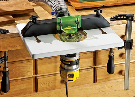 New rockler compact and trim router table greentooth Image collections