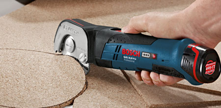 Bosch GUS 10.8V Cordless Shear Cutting Cork