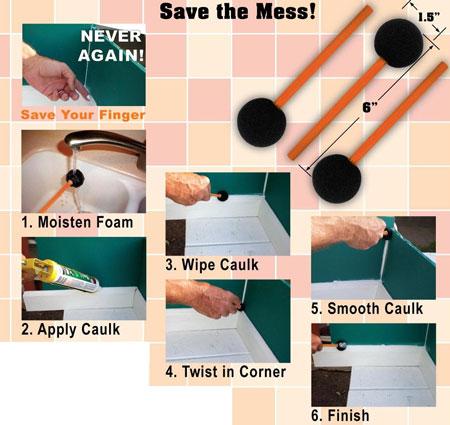 Caulk Savers Bead Stix How to Use Them