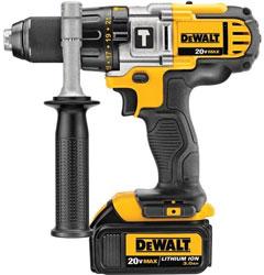 DEWALT DCD985L2 20-Volt MAX Li-Ion Premium Hammer Drill Driver Kit