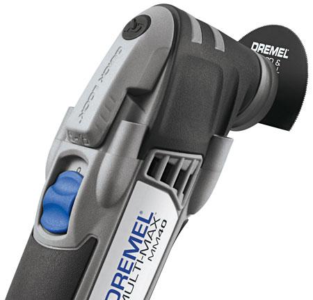 Dremel Multi-Max MM40 Quick-Lock Closeup