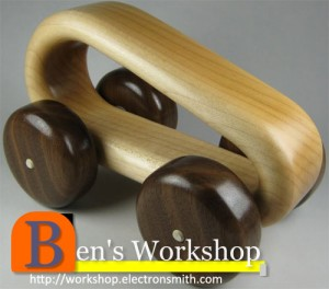 How to Make a Curvy Toy Car Out of Wood