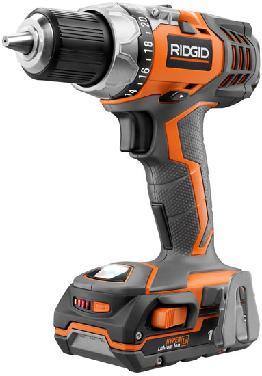 ridgid fuego x4 18v compact li ion drills and drivers have the ooh ahh factor. Black Bedroom Furniture Sets. Home Design Ideas