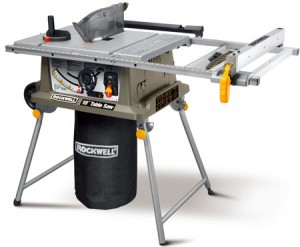 New Rockwell Jobsite Table Saw